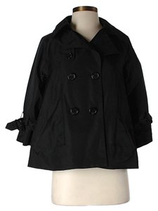 BCBGMAXAZRIA Oversized Raincoat