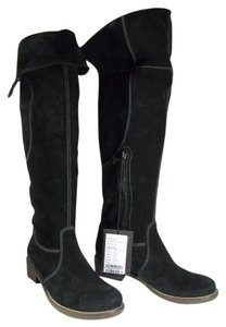 Bruno Magli Over The Knee black Boots