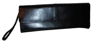 Alfani Leather Wristlet black Clutch