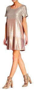 Free People short dress Rose Gold on Tradesy