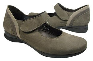 Mephisto Mary Jane Comfort Velcro taupe Flats