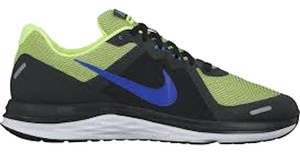 Nike MLB Men Sneakers Men Fashion Running Gifts For Men Blue and neon Athletic