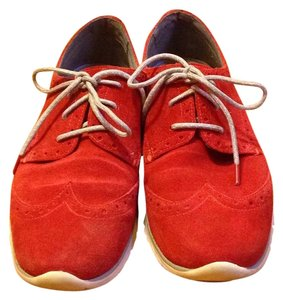 Cole Haan Red Suede Athletic