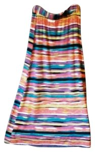 Maurices Colorful Maxi Skirt Multi-colored