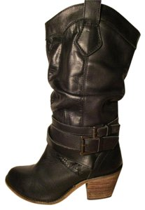 ALDO Leather black Boots