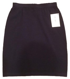 St. John Knit Skirt Navy