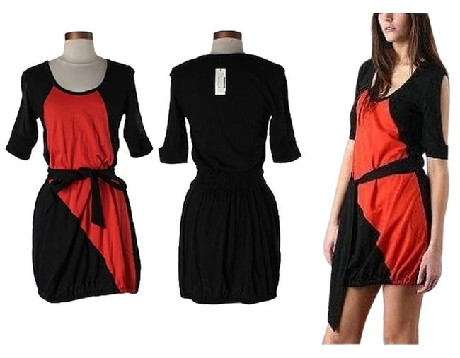 Preload https://item1.tradesy.com/images/daryl-k-black-red-color-block-doctored-mini-short-casual-dress-size-2-xs-1808935-0-12.jpg?width=400&height=650