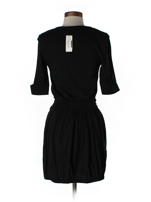 Daryl K short dress Black Color-blocking Mini Cut-out on Tradesy
