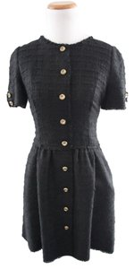 Dolce&Gabbana short dress Black Dolce & Gabbana Tweed on Tradesy