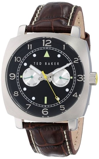 Ted Baker Ted Baker Male Fashion Watch TE1106 Brown Analog
