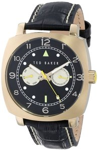 Ted Baker Ted Baker Male Fashion Watch TE1104 Black Analog