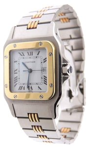 Cartier Cartier Santos Special Edition Automatic 18K Yellow Gold & SS Watch