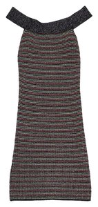 Missoni short dress Multi Color Sparkly Knit Sleeveless on Tradesy