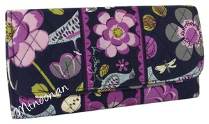 Vera Bradley Floral Nightingale Gallery Wallet