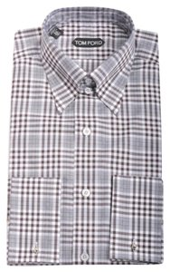 Tom Ford Button Down Shirt Brown