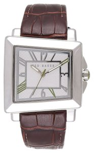 Ted Baker Ted Baker Male About Time Watch TE1073 Brown Analog