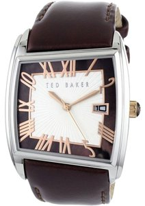 Ted Baker Ted Baker Male About Time Watch TE1060 Brown Analog