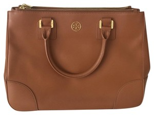 Tory Burch Satchel in Camel brown