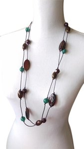 Other Stones and beads long necklace