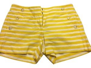 Ann Taylor Mini/Short Shorts Yellow