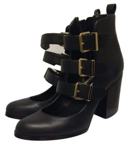 Steve Madden Bootie Boot Leather Black Boots