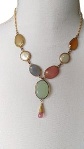 Other Handmade organic style gemstones necklace