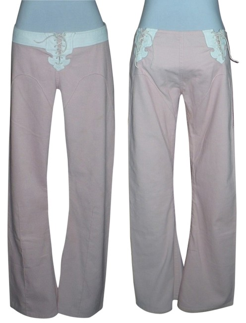 Other Flare Pants Pink