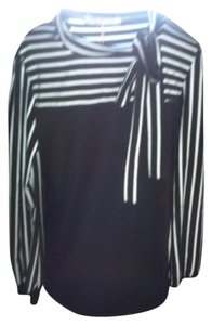 Allegra K Top Black/White