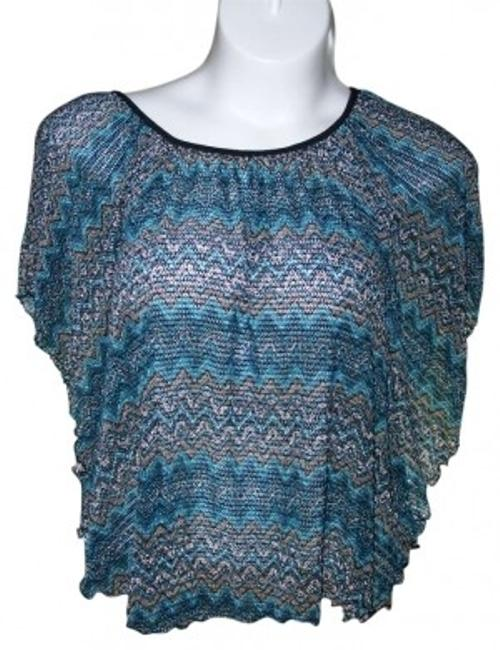 Preload https://img-static.tradesy.com/item/180919/cocomo-multi-color-xl-shaw-turquoise-black-gray-night-out-top-size-16-xl-plus-0x-0-0-650-650.jpg