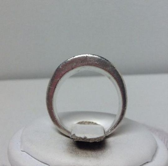 Modern Vintage Vintage Sterling Silver - HEAVY, SOLID Modernist Concave Saddle Ring 11 GRAMS Sz 7.5,