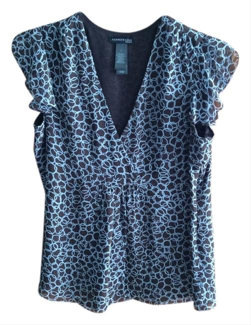 Preload https://img-static.tradesy.com/item/1809201/kenneth-cole-brown-blouse-size-8-m-0-0-650-650.jpg