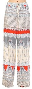 Other Palazzo Festival Print Summer Fall Wide Leg Pants