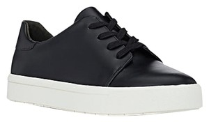 Vince Leather New Sneakers Black Athletic