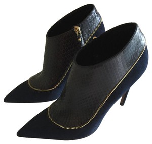 Louis Vuitton Dark Blue & Black Boots