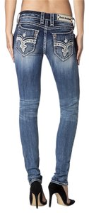 Rock Revival Capri/Cropped Denim-Distressed