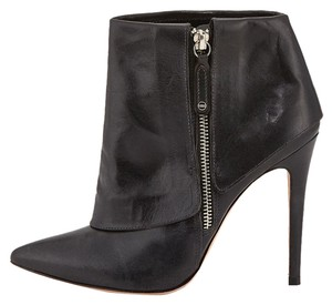 Alice + Olivia Boot Bootie Edgy Rocker Black Boots