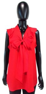 Ann Taylor LOFT Sleeveless Tank Top Red