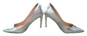ASOS Metallic Silver Pumps