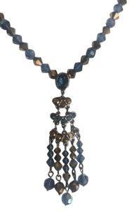 Swarovski Swarovski Citrus and Topaz Blue Necklace with Crystals
