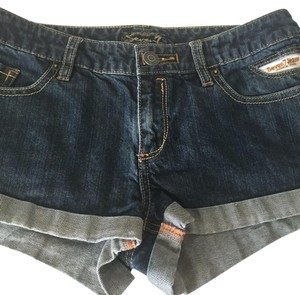 7 For All Mankind Mini/Short Shorts Denim