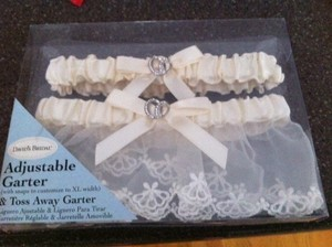Bridal Garter & Toss-away Garter Set