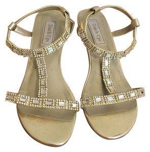 Touch Ups Metallic gold Sandals