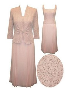 Alex Evenings Pink - Sparkle Blush 4211015 Dress