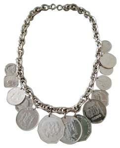 Franklin Mint Gold Coin Vintage Necklace