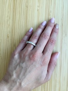 2.1 Ct Eternity Band In White Gold