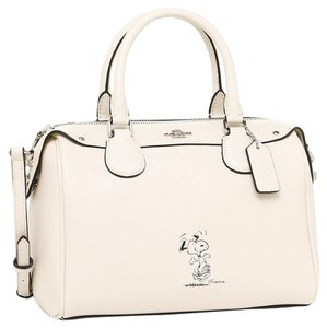 Coach Satchel in Chalk White