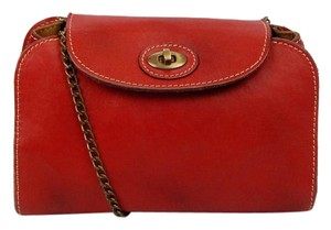 Patricia Nash Designs Leather Red Clutch