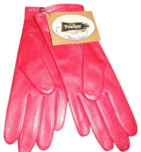 Fownes Fleece lined leather gloves