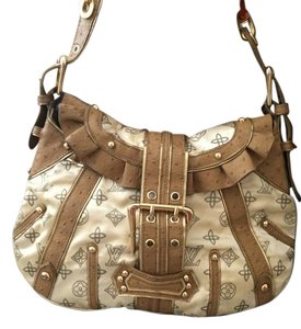 Louis Vuitton Satchel in Beige and taupe