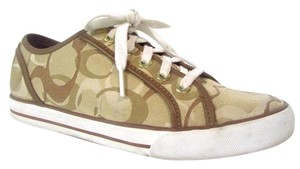 Coach Dee Sneakers Fashion Sneakers Beige Athletic